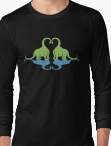Dino Love Long Sleeve T-Shirt