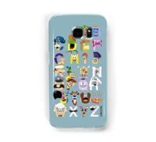 Breakfast Mascot Alphabet Samsung Galaxy Case/Skin