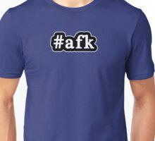 AFK - Hashtag - Black & White Unisex T-Shirt