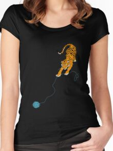 Big Kitty Women's Fitted Scoop T-Shirt