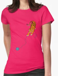 Big Kitty Womens Fitted T-Shirt