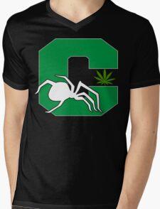 White Widow Cannabis T-Shirts Hoodies Mens V-Neck T-Shirt