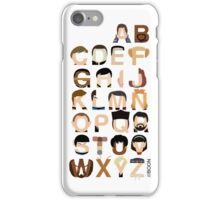 Star Trek Alphabet iPhone Case/Skin