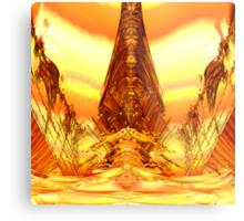 Quetzal Stargate Bridge Metal Print