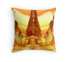 Quetzal Stargate Bridge Throw Pillow
