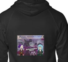 DARIA WITCH HUNT Zipped Hoodie