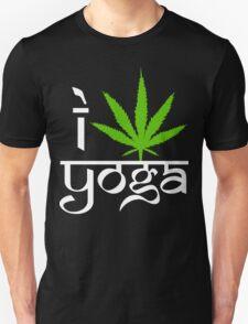 I Cannabis Yoga Unisex T-Shirt
