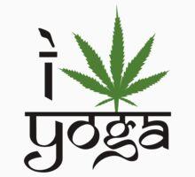I Marijuana Yoga T-Shirt