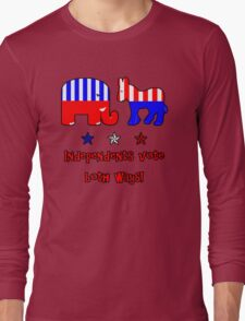 Independents Vote T-Shirt Long Sleeve T-Shirt