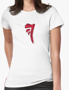 First Born Womens Fitted T-Shirt
