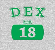 Varsity D&D - DEX 18 Unisex T-Shirt