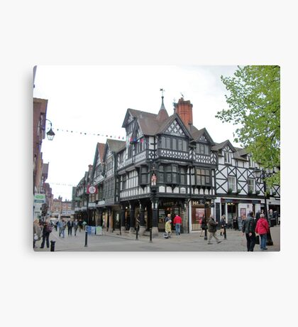 Chester, UK Canvas Print