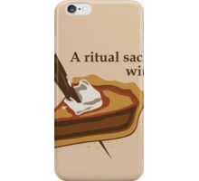 Ritual Sacrifice iPhone Case/Skin