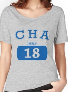Varisty D&D - Charisma Women's Relaxed Fit T-Shirt