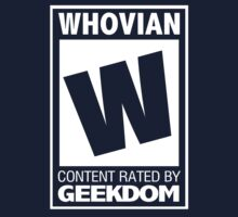 Rated W for Whovian (White) by trekvix