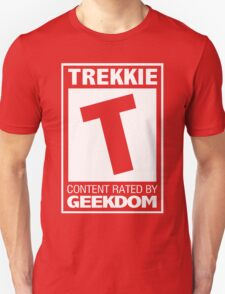 Rated T for Trekkie T-Shirt