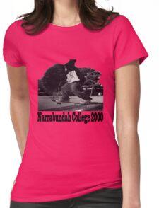 Narrabundah College Skatepark 2000 Womens Fitted T-Shirt