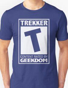 Rated T for Trekker (White) T-Shirt
