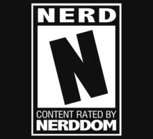 Rated N for Nerd (White) by trekvix