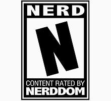 Rated N for Nerd (Black) Unisex T-Shirt