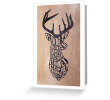 Rudolph and friends Greeting Card