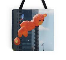 Flying Bear Watches Over City of Milwaukee Tote Bag