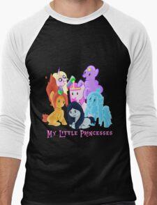 Pony Princesses Men's Baseball ¾ T-Shirt