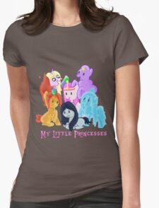 Pony Princesses Womens Fitted T-Shirt