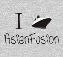 I Ship Asian Fusion! Baby Tee