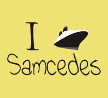 I Ship Samcedes! by zatanna103