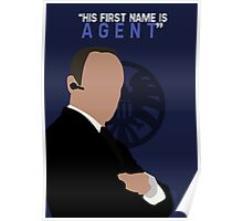 "His First Name is ""AGENT."" Poster"