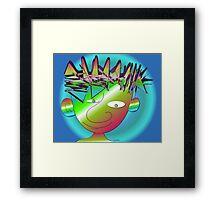Misfit Max Framed Print