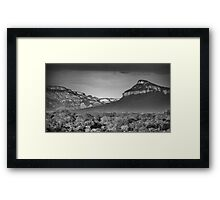 Drakensburg Escarpment Framed Print