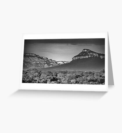 Drakensburg Escarpment Greeting Card