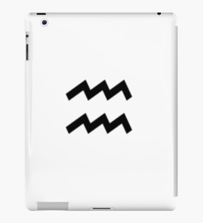 Aquarius iPad Case/Skin