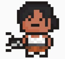 Pixel Chell Sticker by PixelBlock