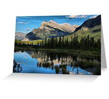 Reflections on the Lakes Greeting Card