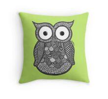 Ollie Owl Throw Pillow
