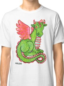 2013 Holiday ATC 23 - Red and Green Dragon Classic T-Shirt