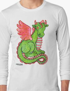 2013 Holiday ATC 23 - Red and Green Dragon Long Sleeve T-Shirt