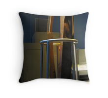 A Bent Steel Beam From The North Tower - different view Photo2 Throw Pillow