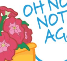 Improbable Petunias Sticker
