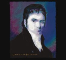 Ludwig van Beethoven Oil rendering 1a by codexNovus