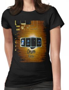 DrumFill Caratgold Productions Womens Fitted T-Shirt