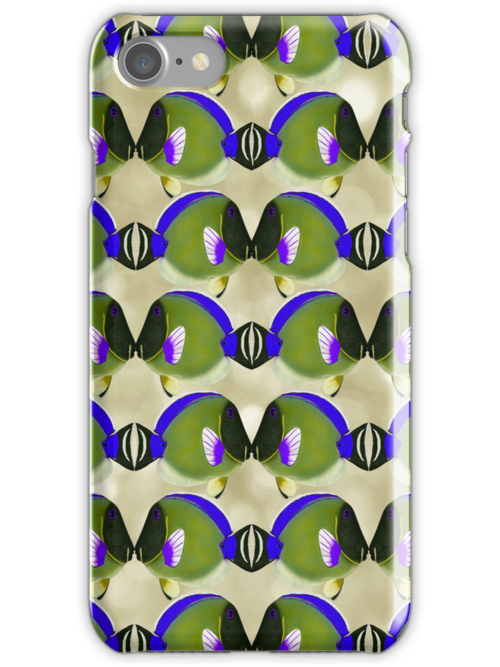 Fish Fone _iPhone Case by Diane Johnson-Mosley