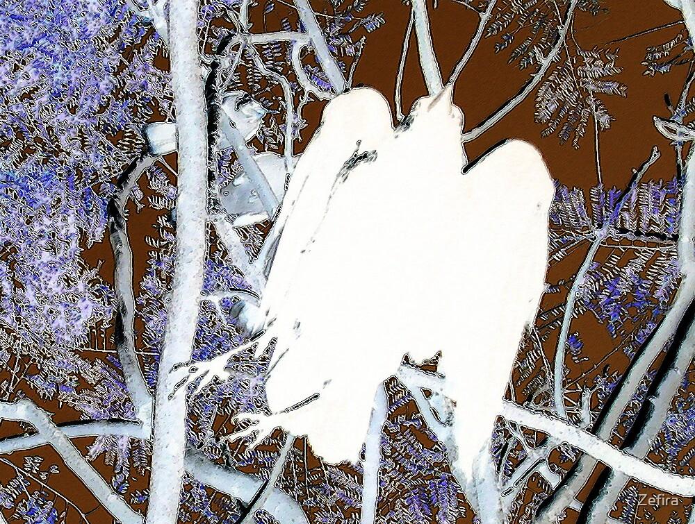 crow angel by Zefira