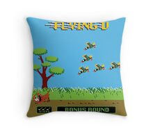 Mighty Ducks Flying V/Duck Hunt Throw Pillow