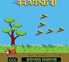 Mighty Ducks Flying V/Duck Hunt by finsterandco