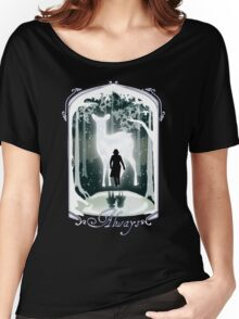 Snape Memories Black Women's Relaxed Fit T-Shirt