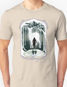 Snape Memories Black Unisex T-Shirt